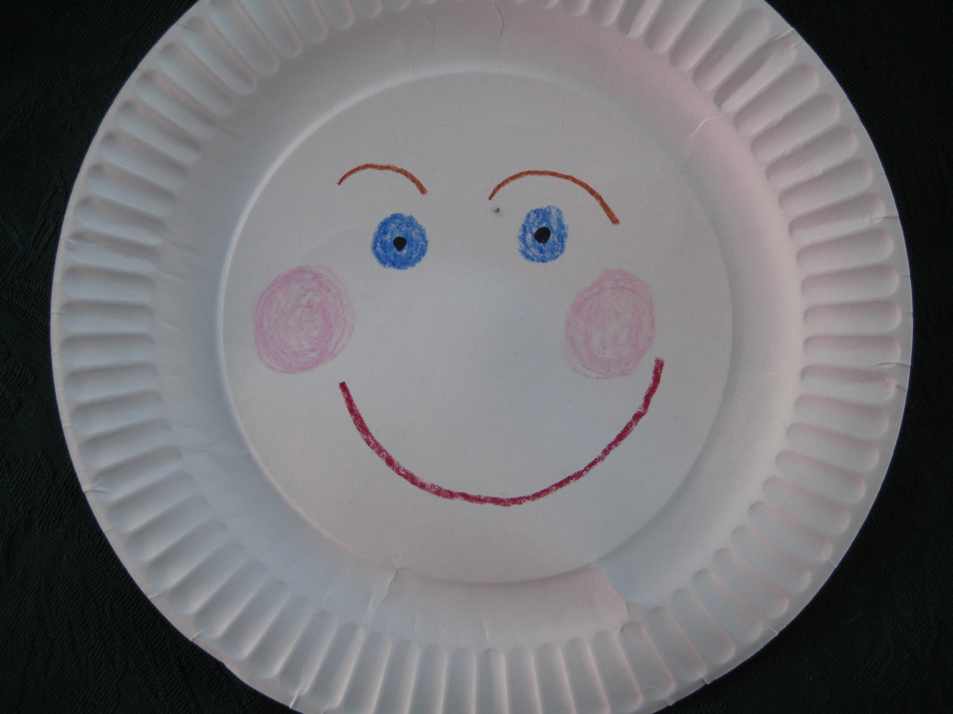 Paper Plate Menopause Lady A Craft Project - talkhealth Blogtalkhealth Blog & Paper Plate Menopause Lady: A Craft Project - talkhealth ...