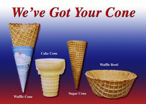 Ice Cream Cones Friend For The Ride