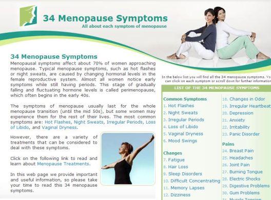 34 Symptoms