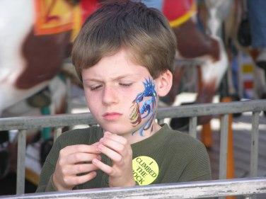 Charlie at the Fair