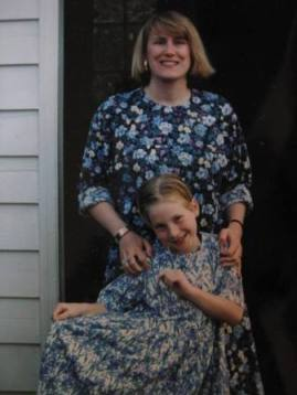 Laura and Mom