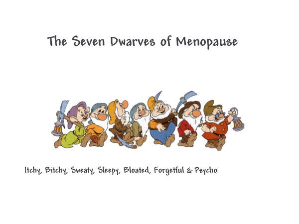 The 7 dwarfs of menopause