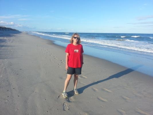 Barbara on the Beach