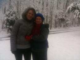 Jamie and Judy in Snow