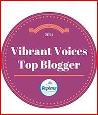 Vibrant Voices Top Blogger