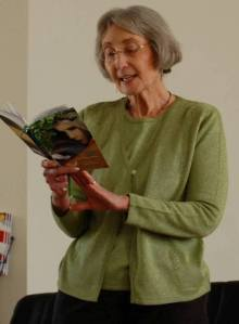 Joy Reading from Hildegarde