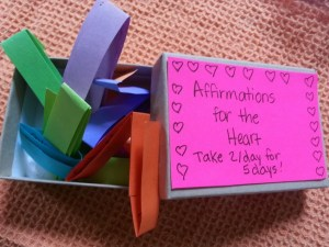 Affirmations for the Heart