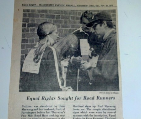 Equal rights newspaper article