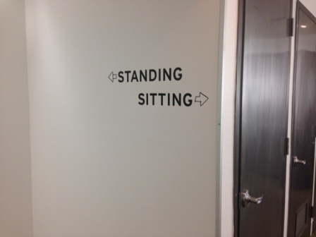 Standing Sitting