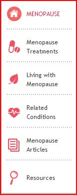 Lifescript on Menopause