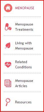 Lifescript on Menopause