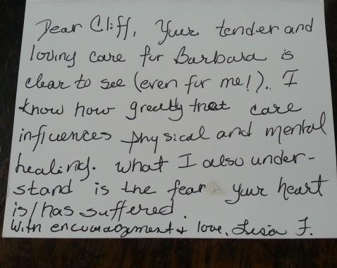 Lisa's Note