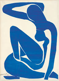 Matisse Woman Cut Outs