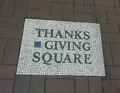 Thanks Giving Square