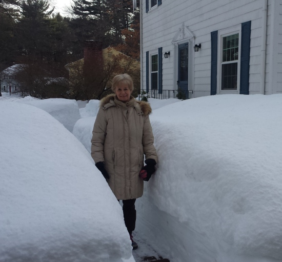 Judith in Snow