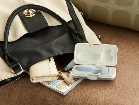 PeriCoach with handbag