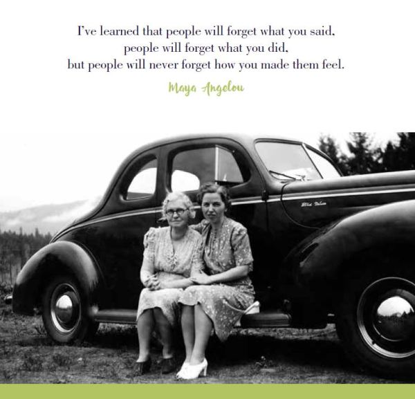 Page 70 - Woman & Mom with Angelou quote