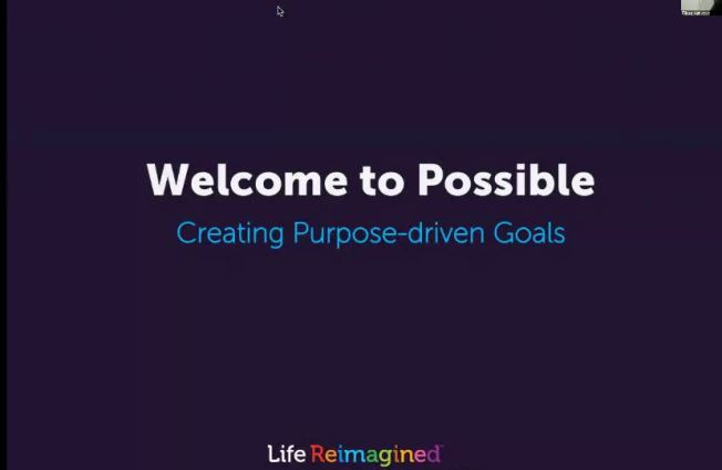 Setting Purposeful Goals