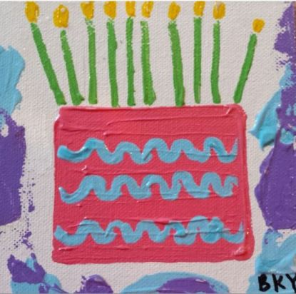 Magnificent Paintings Of Birthday Cakes Friend For The Ride Funny Birthday Cards Online Hendilapandamsfinfo